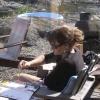 Plein Air Painting on The Sunshine Coast, 2003