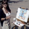 Plein Air Painting in ARTISHOW, Victoria, BC. Summertime of 2010