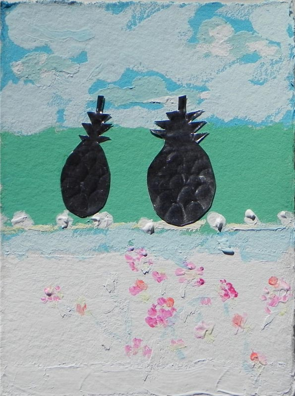 Pineapples of Bahamian Friendship & Welcome